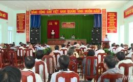 ĐBQH tỉnh Tiền Giang tiếp xúc cử tri huyện Chợ Gạo
