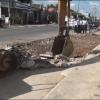 Chợ Gạo cưỡng chế các công trình vi phạm hành lang an toàn đường bộ QL.50