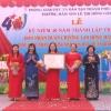 Trường Mầm non Lê Thị Hồng Gấm nhận Huân chương Lao động hạng Nhất
