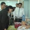 Phó Chủ tịch nước Đặng Thị Ngọc Thịnh thăm Bệnh viện Đa khoa tỉnh Tiền Giang