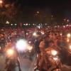 CĐV Tp. Mỹ Tho xuống đường mừng chiến thắng đội tuyển Việt Nam