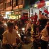 CĐV Tp. Mỹ Tho xuống đường sau trận hòa đầy kịch tính của đội tuyển Việt Nam