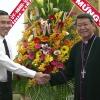 Chủ tịch UBND tỉnh Tiền Giang chúc mừng Giáng sinh tòa Giám mục Giáo phận Mỹ Tho