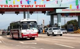 Từ 0 giờ ngày 1-1-2019, tạm dừng thu phí cao tốc TP HCM-Trung Lương