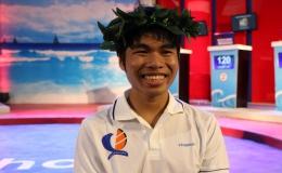 Huỳnh Tấn Đạt – THPT chuyên Tiền Giang giành tấm vé thứ 2 vào chung kết quý 1