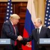 Hành động khác thường của ông Trump sau khi họp với ông Putin