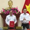 Bổ nhiệm ông Nguyễn Hoàng Thanh làm Chánh Văn phòng Ban ATGT tỉnh Tiền Giang