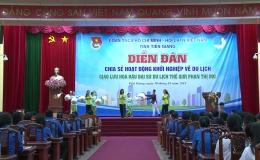 """Hoa hậu đại sứ du lịch thế giới Phan Thị Mơ tham gia diễn đàn """"Thanh niên khởi nghiệp"""" trong lĩnh vực du lịch"""