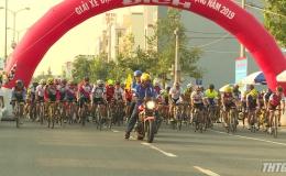 Giải đua xe đạp thành phố Mỹ Tho mở rộng năm 2019