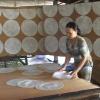 Làng nghề bánh phồng Cái Bè hối hả sản xuất, cung ứng cho thị trường Tết