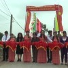 Nguyên Phó Chủ tịch nước Trương Mỹ Hoa tặng quà tết cho hộ nghèo huyện Tân Phú Đông