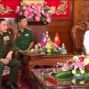 Cục Phát triển Quân đội Hoàng gia Campuchia thăm, chúc Tết tỉnh Tiền Giang