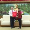 Đại học Quốc gia Tp. Hồ Chí Minh chúc Tết Tỉnh ủy Tiền Giang