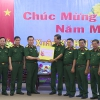 Đoàn công tác Bộ Quốc phòng thăm và chúc Tết tại Tiền Giang