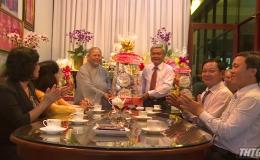 Ông Trần Long Thôn chúc Tết các cơ sở tôn giáo
