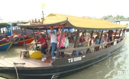 Khách du lịch đến Tiền Giang ngày đầu năm mới tăng 10%