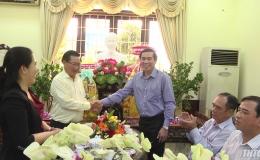 Chủ tịch UBND tỉnh Tiền Giang thăm và chúc Tết các địa phương