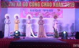 """Thí sinh Nguyễn Lê Trâm Anh đăng quang """"Người đẹp Gò Công"""" Xuân 2019"""