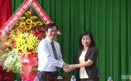 Bà Châu Thị Mỹ Phương thăm Bệnh viện Đa khoa Trung tâm Tiền Giang