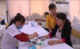 Tiền Giang phát động chương trình sức khỏe Việt Nam