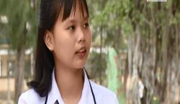Chân dung em Trần Thị Ngọc Trang – học sinh giỏi cấp quốc gia