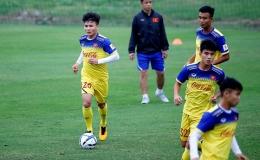 Quang Hải sẽ mang băng thủ quân đội tuyển U23 Việt Nam