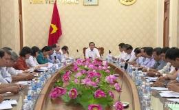 Lãnh đạo UBND tỉnh làm việc với Đài PT-TH Tiền Giang