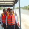 Phó Thủ tướng Trịnh Đình Dũng khảo sát và quyết định vốn đầu tư kênh Chợ Gạo giai đoạn 2