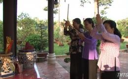 Hội Liên hiệp Phụ nữ Tiền Giang về nguồn và tham gia các hoạt động trải nghiệm