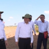 Lãnh đạo UBND tỉnh Tiền Giang kiểm tra đường cao tốc Trung Lương – Mỹ Thuận