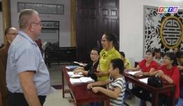 Lớp tiếng Anh đặc biệt tại chùa Từ Quang – Tp. Mỹ Tho