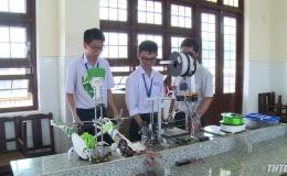 Tiền Giang đạt 03 giải cuộc thi khoa học kỹ thuật cấp quốc gia