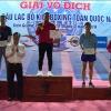 Bế mạc Giải vô địch Cúp các Câu lạc bộ Kickboxing toàn quốc năm 2019