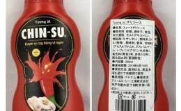 Tương ớt Chin-su chứa chất Axit benzoic vượt ngưỡng tác động thế nào tới sức khỏe người dùng?
