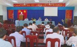 Chủ tịch UBND tỉnh Tiền Giang tiếp các hộ khiếu nại dự án đường cao tốc Trung Lương – Mỹ Thuận