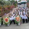 Lãnh đạo tỉnh Tiền Giang viếng Nghĩa trang liệt sỹ nhân kỷ niệm ngày 30/4 và 01/5