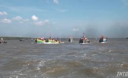Ngư dân Vàm Láng tổ chức lễ hội Nghinh Ông năm 2019