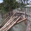 Tình hình sạt lở tiếp tục diễn biến phức tạp tại huyện Cai Lậy