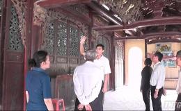 Sở Văn hóa – Thể thao và Du lịch tỉnh Tiền Giang khảo sát hiện trạng Đình Long Trung