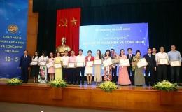 3 nhà khoa học được trao Giải thưởng Tạ Quang Bửu năm 2019