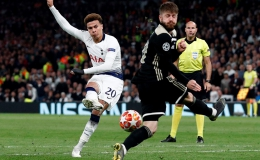 Hạ gục Tottenham, Ajax đặt một chân vào chung kết Champions League