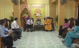 Lãnh đạo tỉnh Tiền Giang chúc mừng Đại lễ Phật Đản Vesak 2019