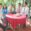 Trao Huy hiệu Đảng cho Đảng viên cao niên xã Hòa Hưng và xã An Thái Đông- Cái Bè.