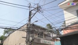 Dân bất an vì đường dây điện xuống cấp