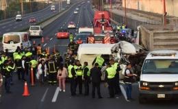20 người bị thiêu cháy trong tai nạn giao thông thảm khốc ở Mexico