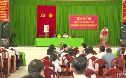 Đoàn ĐBQH tỉnh Tiền Giang tiếp xúc cử tri trước kỳ họp thứ 7