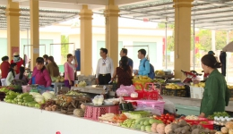 Mô hình chợ an toàn vệ sinh thực phẩm mang lại hiệu quả cao