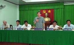 Chủ tịch UBND tỉnh Tiền Giang tiếp các hộ dân bị ảnh hưởng của dự án cao tốc Trung Lương – Mỹ Thuận