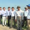 Lãnh đạo UBND tỉnh Tiền Giang kiểm tra tiến độ xây dựng nhà ở xã hội