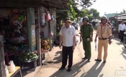 Chủ tịch UBND tỉnh Tiền Giang kiểm tra trật tự ATGT huyện Châu Thành và Tân Phước